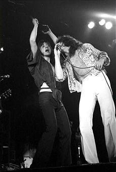 Steve Perry and Gregg Rolie Gregg Rolie, Legend Singer, Journey Band, Neal Schon, Journey Steve Perry, 80s Music, Betty Boop, Perfect Man, The Man