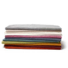 Twill Organic Hand Towel, $20, New ORCHID color just in time for spring! Twill woven for softness and drape, these medium-weight towels wash easily and dry quickly.
