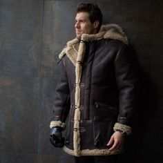 B-7 Aleutian WWII Sheepskin Parka - Cockpit USA - US Trailer will buy used trailers in any condition to or from you. Contact USTrailer and let us buy your trailer. Click to http://USTrailer.com or Call 816-795-8484