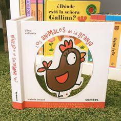 """Una manera divertida de aprender los animales y los contrarios. Un libro """"voltereta"""". Sólo tendrás que girar las páginas y divertirte con los animales de granja."""