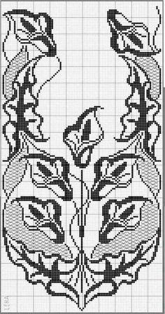 This Pin Was Discovered By Filet Crochet Charts, Crochet Doily Patterns, Thread Crochet, Crochet Motif, Crochet Doilies, Crochet Flowers, Crochet Stitches, Knit Crochet, Crochet Table Runner