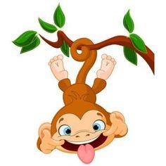 free monkey clip art images cute baby monkeys dey all axed for rh pinterest com baby monkey clip art free baby monkey cartoon clip art
