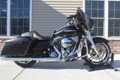 2014 Harley-Davidson® Street Glide FLHX Black Denim Platinum Powersports Rockford, MI (616) 379-6060