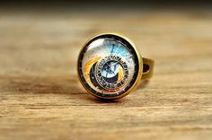 Astronomical Steampunk Ring