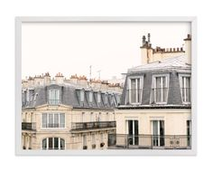 """""""Parisian Windows"""" - Art Print by Annie Montgomery in beautiful frame options and a variety of sizes."""