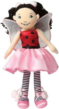 Groovy Girls Lacey Ladybug Plush Toy  #ladybug #affiliate #ladybird #plushtoy