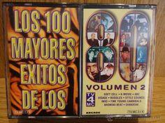 LOS 100 MAYORES ÉXITOS DE LOS 80. VOL 2.  4 MC / ARCADE - 1998. CALIDAD LUJO / DIFÍCIL.