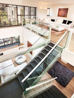 Modern loft, open plan | http://homechanneltv.com/ #lofts #loftideas #loftdesigns