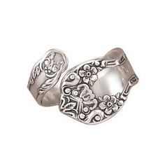 how to make a spoon ring