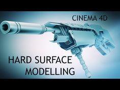 Cinema 4D   Hard Surface modeling Tutorial - YouTube
