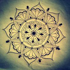 Mandala Designs, pastel-otaku: I like to draw really pretty...