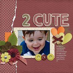 2 Cute - Scrapbook.com