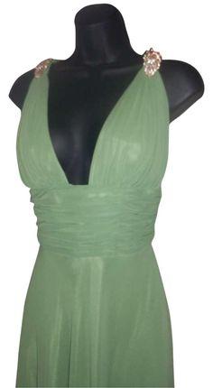 Faviana Green Evening Gowns Green Formal Gowns Green Pageant Gowns Green Prom Gowns Chiffon Floor Length Gowns Dress