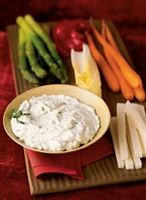 A foray into your pantry will likely yield the makings for this tempting hors d'oeuvre.