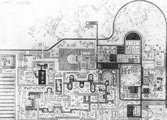tumblr.radarq.net • Roberto Burle Marx, Plan, Parc Zoologique et...