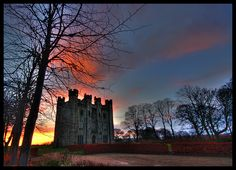 Hylton Castle, Sunderland.  The home of my English ancestors the Hyltons.
