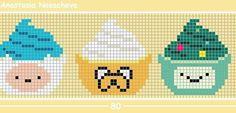 фенечки схемы прямое плетение - Поиск в Google
