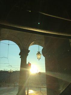 Sunshine in Piazza Castello, Turin