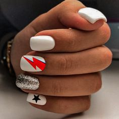 Simple Acrylic Nails, Best Acrylic Nails, Simple Nails, Stylish Nails, Trendy Nails, Acylic Nails, Cow Nails, Nails First, Fire Nails