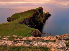 Neist Point Lighthouse   Scotland (by Michele Galante)