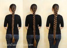Haartraumfrisuren - lange Haare pflegen und frisieren