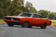 Today we present you the greatest Pro Touring 1969 Dodge Charger RT ever. This project was done by Detroit Speed Inc, which is a little bit confusing Dodge Srt, Dodge Challenger, Dodge Muscle Cars, 1969 Dodge Charger, Michelin Tires, Muscle Power, Mustang Cars, Pontiac Gto, Pontiac Firebird