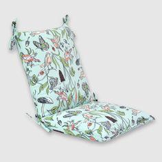 garden blooms squared corners outdoor chair cushion pink pillow rh pinterest com
