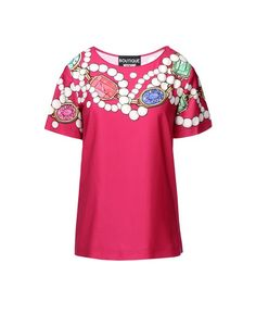 7ae475828 Blouse Women - Moschino Online Store Crepes, Boutique Moschino, Boutique  Shop, Pink Tops