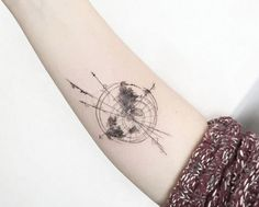 #Globe #Travel #Wanderlust #Tattoo