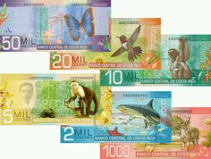 Costa Rica Currency is the Colon. The exchange rate vs the U. dollar has been stable since 2006 at Riga, Creature Meaning, Costa Rica Travel, Thinking Day, Travel Maps, Central America, Vacation Trips, Dream Vacations, Really Cool Stuff