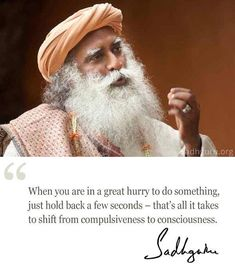 18th Feb quote from Sadhguru