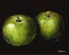 Green Wall Art| Apple Art