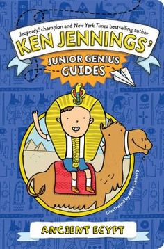 With this book about ancient Egypt, you'll become an expert and wow your friends and teachers with awesome ancient facts. Travel back in time to the age of the pyramids with this interactive trivia book from Jeopardy! winner and New York Times bestselling author Ken Jennings. (Jan 2016)