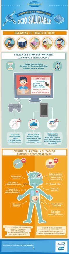 City Salud. Infografía: Ocio saludable
