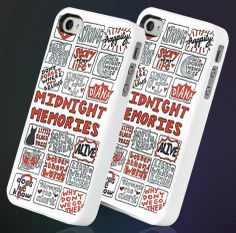 One Direction Midnight Memories Collage - iPhone 4 iPhone 5/5s/5c - Samsung Galaxy S3/s4 - Hard Plastic or Rubber Case