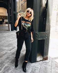 All black looks, all black style, all black fashion, look fashion, Neue Outfits, Style Outfits, Hipster Outfits, Rock Outfits, Edgy Outfits, Grunge Outfits, Grunge Fashion, Look Fashion, Autumn Fashion
