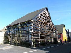 façade du bâtiment  conception écologique  Liliana Motta