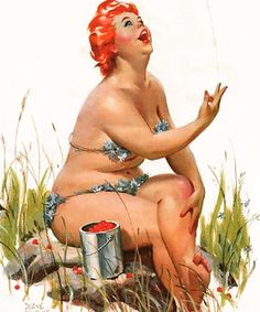 Good Morning with adorable Hilda by Duane Bryers... don't forget your #crochetbikini Bom dia com a maravilhosa Hilda de Duane Byers... não se esqueça do seu #bikinicrochet  #brazilianbikini #bohemian #bohochic #blessed #handmade #hippie #hilda #mermaid #sea #sereia #vsocam #summer #etsyseller #fashionrevolution #romacrochet