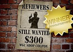 Latest WGC Shop Review Contest Winner