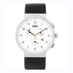 Dieter Rams for Braun Watch - lifestylerstore - http://www.lifestylerstore.com/dieter-rams-for-braun-watch/