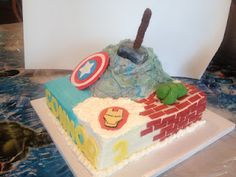 The Sweetest Slice: An Avengers Birthday!