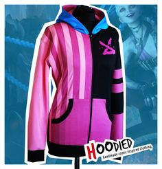 LEAGUE of LEGENDS jinx inspired hoodie by hoodied on Etsy, $150.00