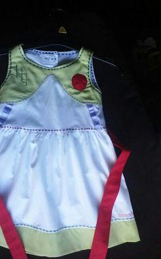 Buzz lightyear dress for mia