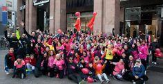 L'onda rosa delle Women in Run a Milano contro la violenza sulle donne