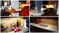 Look what a major improvement Granite Transformations can do for your kitchen!