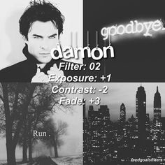 . ♡ //faded black and white filter for fan edits inspired by damon salvatore hope you like it & tag me if u're using // ♡qotp: what is your least favorite tv show? -- ☁️free giftcards on my bio just download as many as you can and you can get a lot of rewards☁️ (itunes, amazon google play and more)