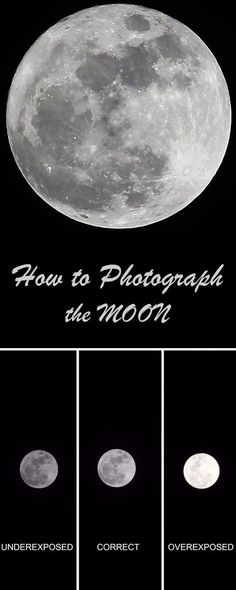The moon is the most beautiful object in the night sky! This is a simple guide to photographing the moon using a DSLR or a point and shoot camera and will help you better your photography skills.