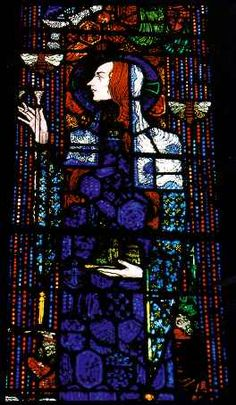 BLUE HARRY CLARKE: Mystery, memory, melancholia, madness + the Messiah in the great Irish Symbolist vitrailliste's work Stained Glass Paint, Stained Glass Projects, Stained Glass Windows, Harry Clarke, Irish Design, Irish Art, Arts And Crafts Movement, Figure Painting, Doa