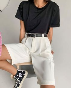 123 labor day outfits white outfits for women - Cute Outfits Mode Outfits, Retro Outfits, Vintage Outfits, Casual Outfits, Fashion Outfits, Fashion Ideas, Vintage Clothing, Boyish Outfits, Casual Dresses