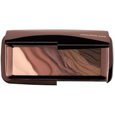 Hourglass Modernist Eyeshadow Palette (Infinity) featuring polyvore, beauty products, makeup, eye makeup, eyeshadow, brown, hourglass cosmetics and palette eyeshadow